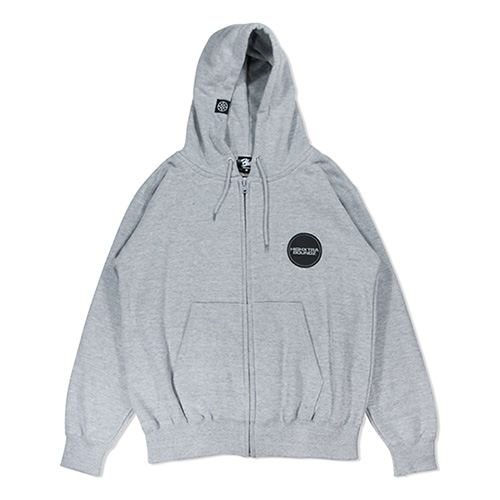HXB SWEAT ZIP PARKA 【THE CIRCLE】 GRAY