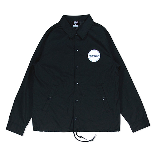 HXB COACH JAKET 【THE CIRCLE】  BLACK