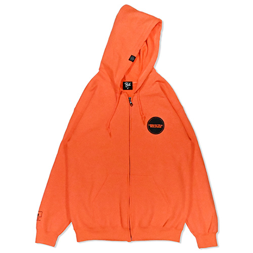 HXB SWEAT ZIP PARKA 【THE CIRCLE】 NEON ORANGE