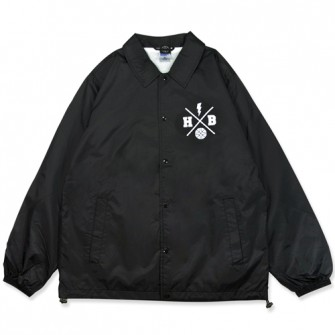 HXB Coach Jkt. 【Xover】  BLACK/white