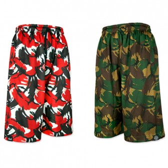 Reversible Mesh Pants【BRUSH CAMO】
