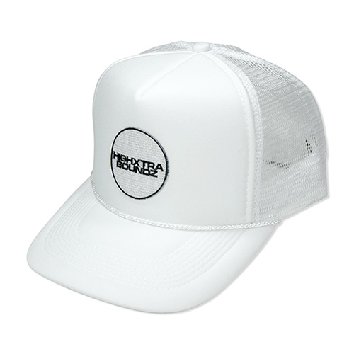 HXB MESH CAP 【THE CIRCLE】 WHITE