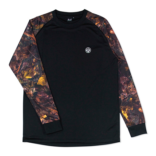 HXB Graphic Raglan Long Sleeve 【BROWN PREDETOR】