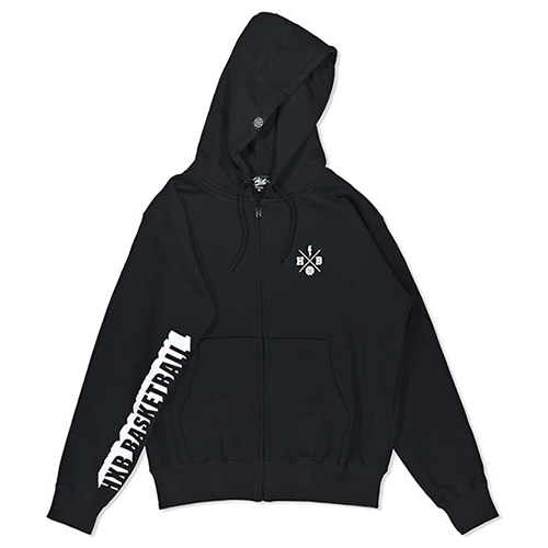 HXB SWEAT ZIP PARKA 【Beyond】 BLACK