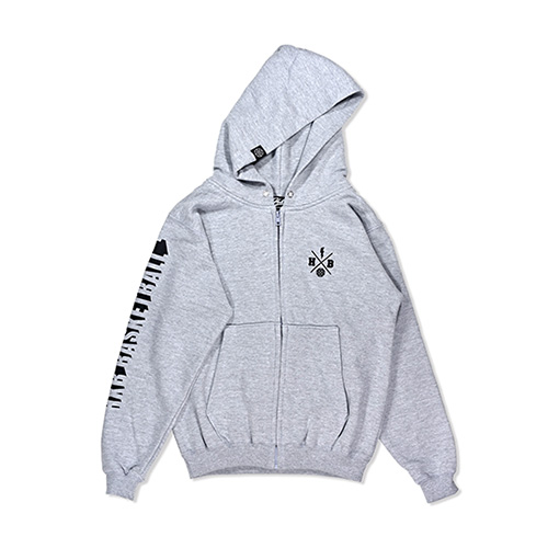 HXB SWEAT ZIP PARKA 【Beyond】 GRAY