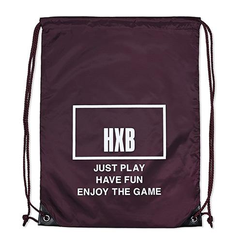 HXB 【KnapSack】 THE BOARD / MAROON/WHITE