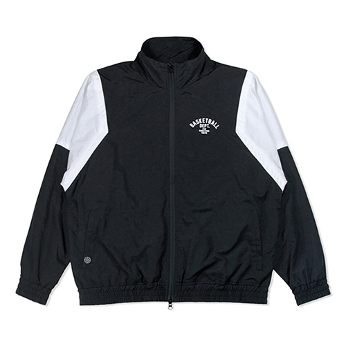 HXB TRACK JKT. 【DEPT.】  BLACK×WHITE